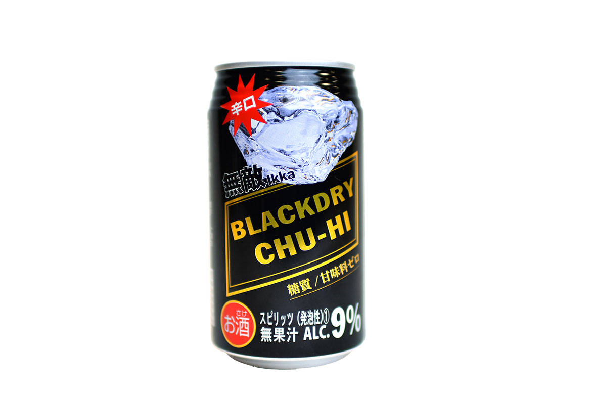 無敵ikka BLACKDRY CHU-HI 350ml